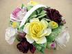 イギリス ロイヤル・ドルトン 陶器製の花 バラ Royal Doulton