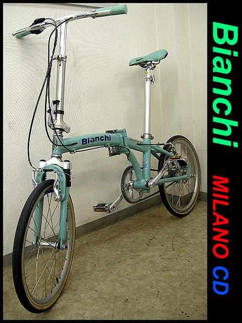 ビアンキ/折りたたみ自転車 ...