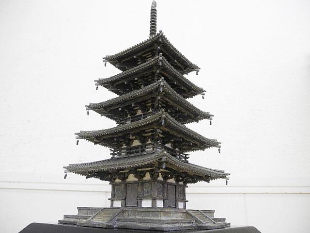 ○国宝法隆寺五重塔 模型
